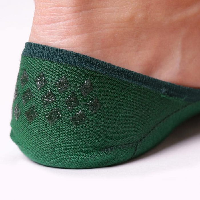 Chaussettes Invisibles Vert sapin