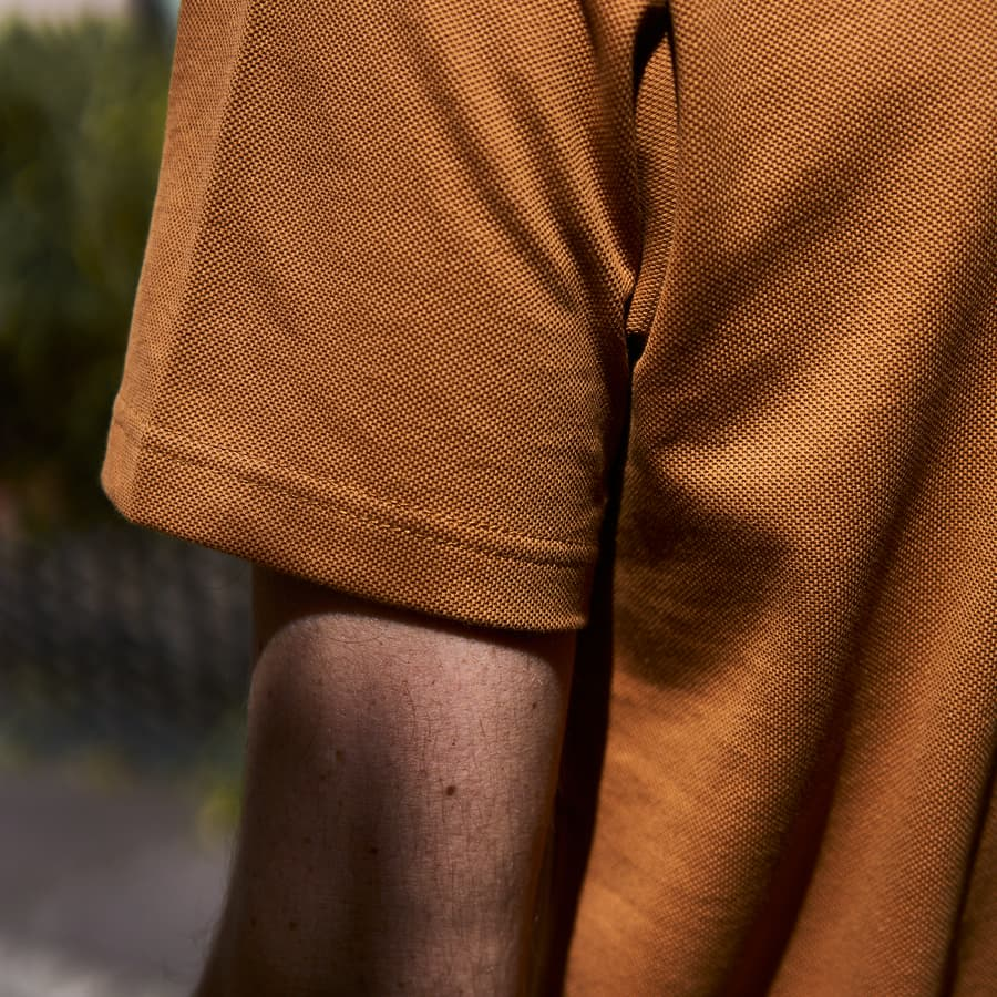 Henley ocre hommes